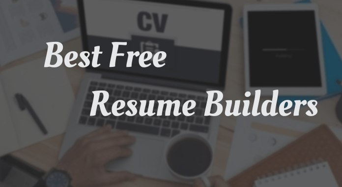 best free resume builder