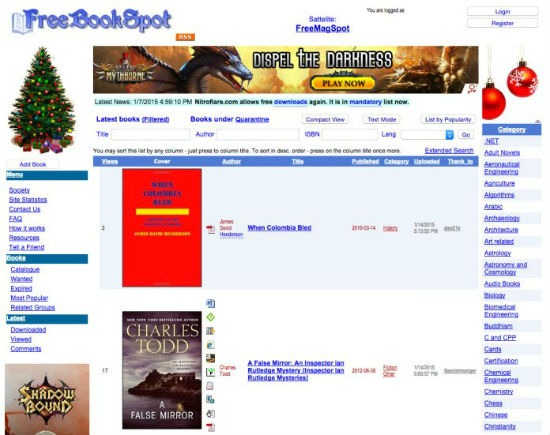 free ebook sites