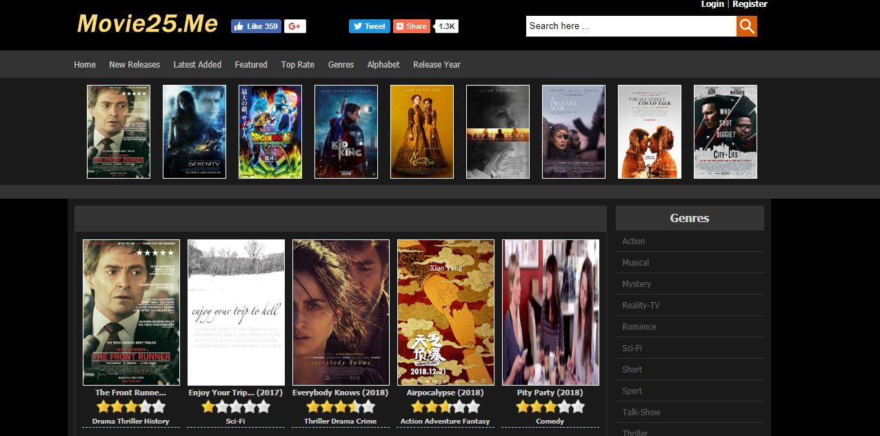 movie25 - Sites Like Primewire