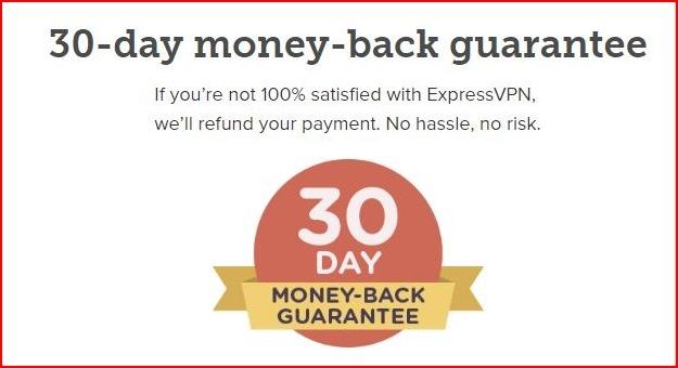 Express VPN - Money Back