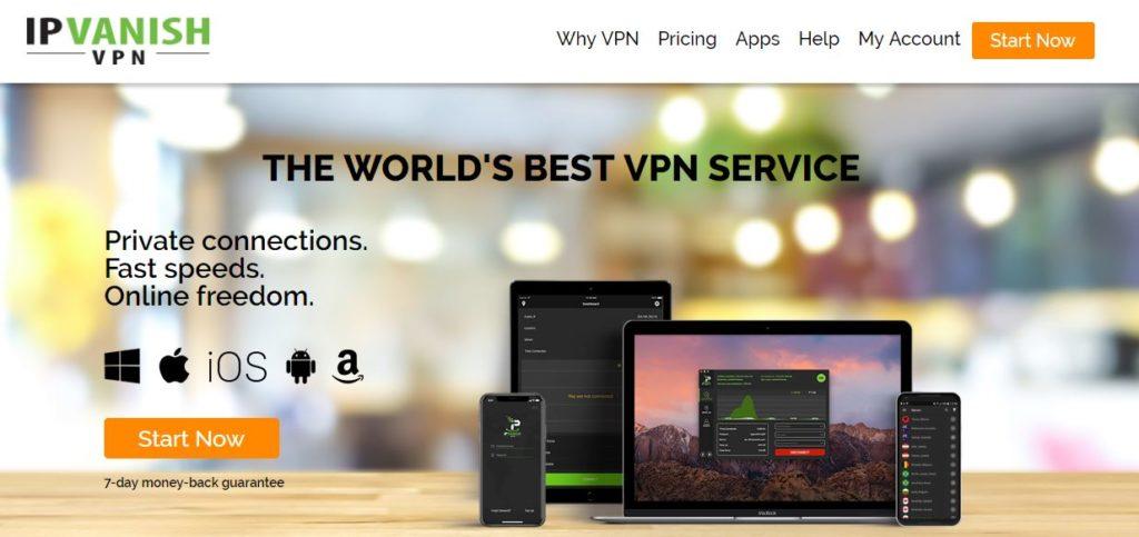 IPVanish VPN for Kodi