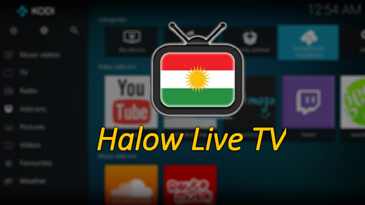 How to Install Halow Live TV Kodi Addon