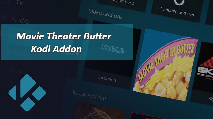 Install Movie Theater Butter Kodi Addon