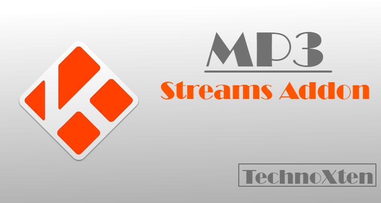 MP3 Streams Kodi Addon